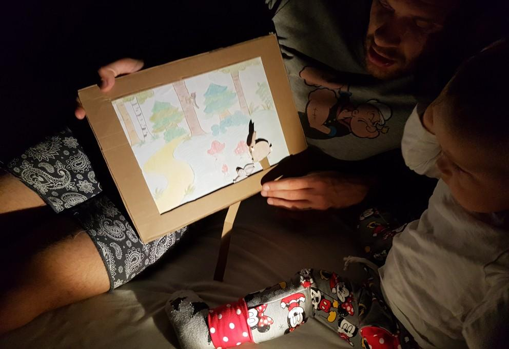 DIY: Gibljiva risbica