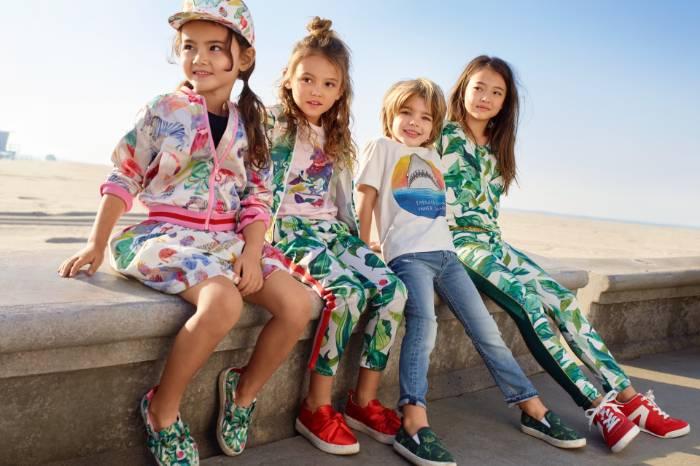 Ideje za barvite otroške outfite